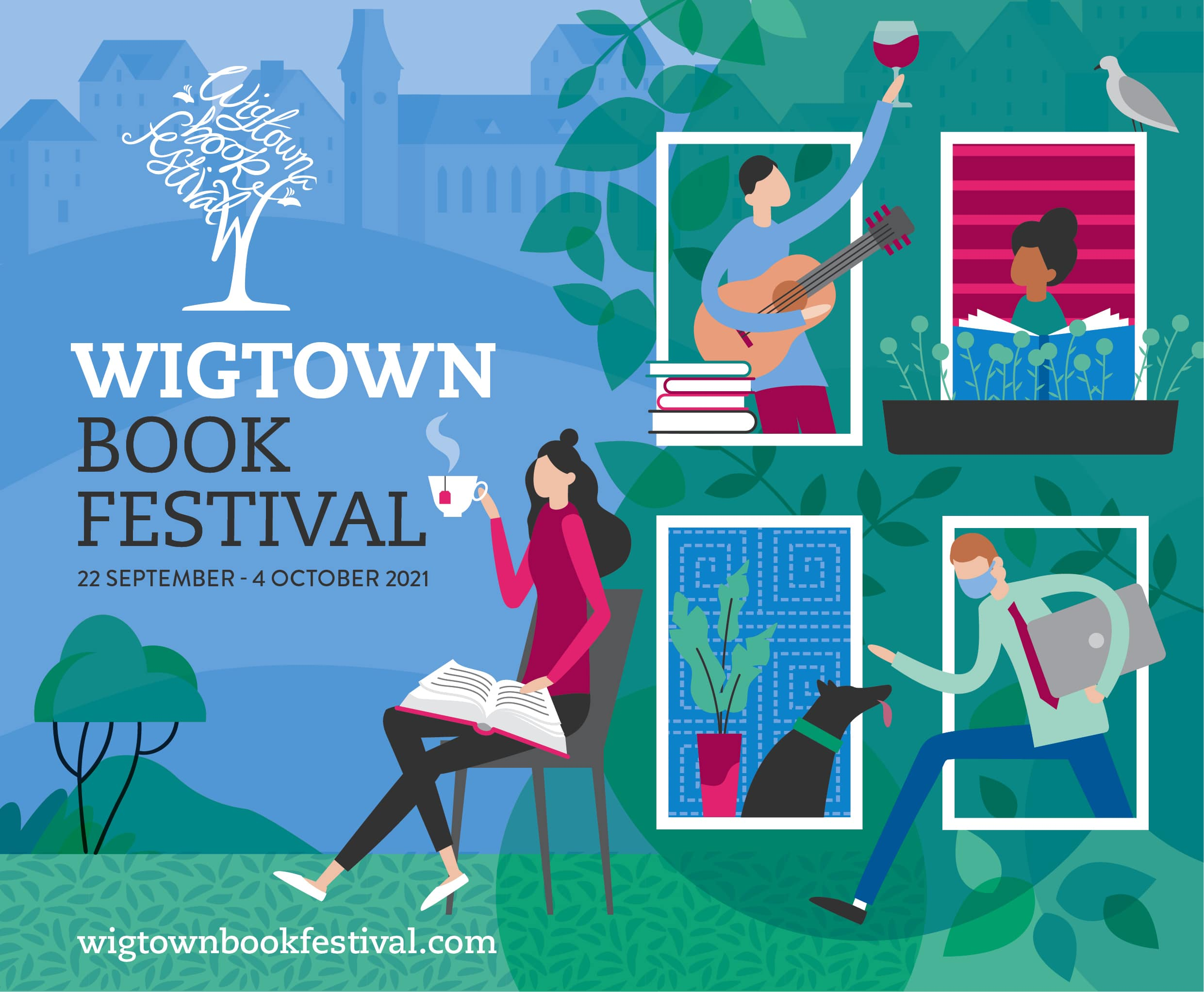 Wigtown Book Festival appeal